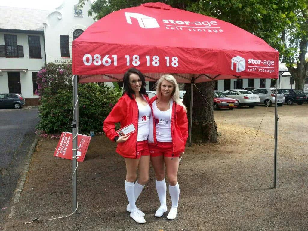 Newlands - Stor-Age promo girls