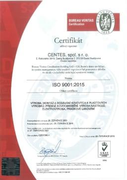 Certifikát_ISO9001_2015_CZ