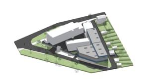 Vizualizace nové haly CENTES