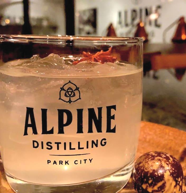 Alpine Distilling Cocktail