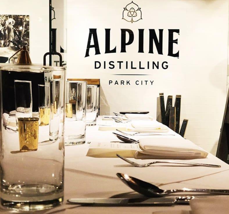 Alpine Distilling Pie Bar