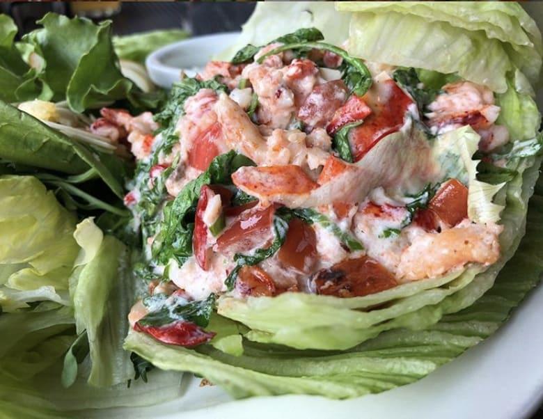 Bandanna's Bar & Grill Crab Salad