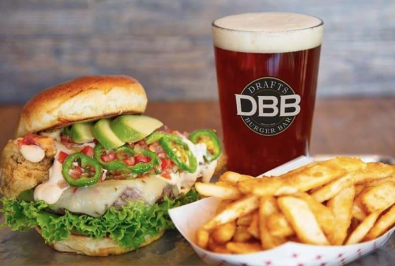 Drafts Burger Bar Sandwich