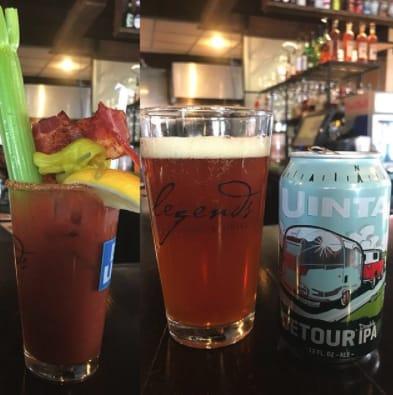 Legends Bar & Grill Cocktails