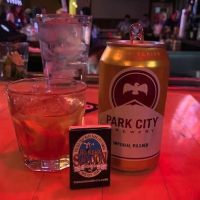 No Name Bar and Saloon Drinks
