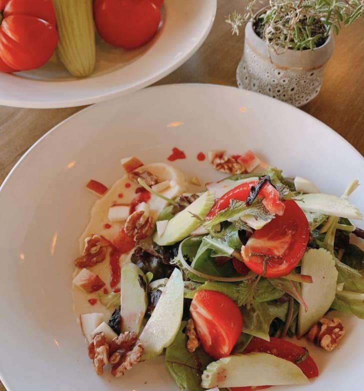 Twisted Fern Salad