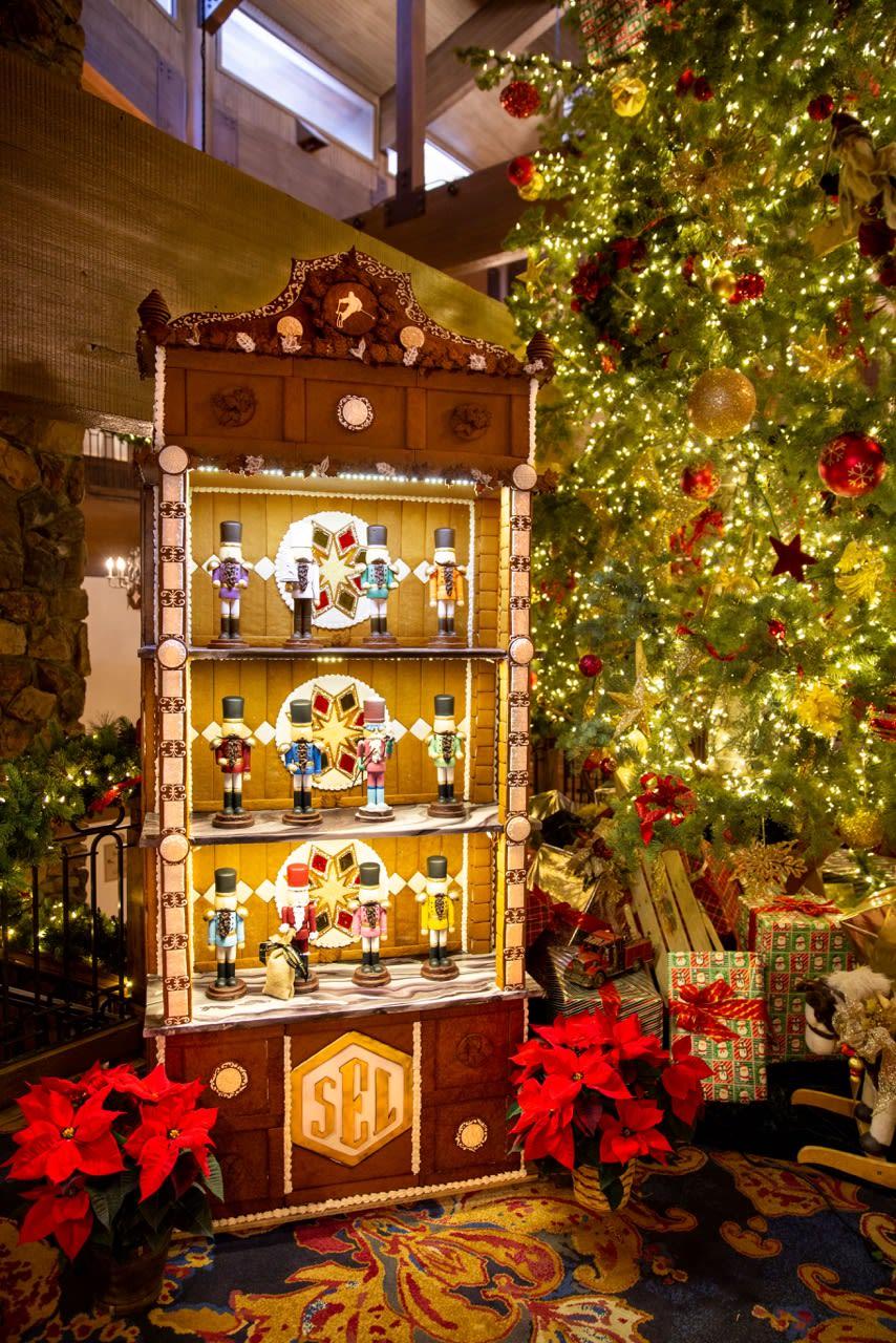 Stein Eriksen Lodge Gingerbread Display