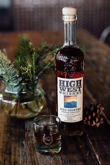 High Country American Sinlge Malt Whiskey