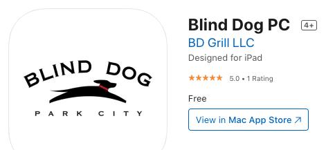 Blind Dog Mobile App