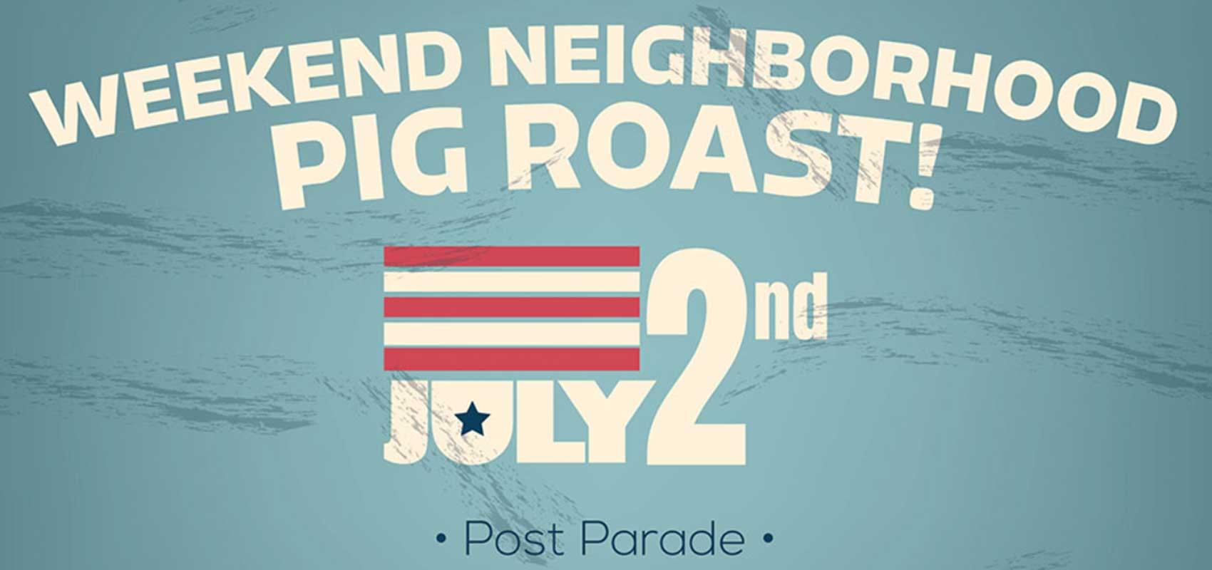Neighborhood Pig Roast Image