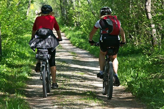 Biking trails in Park City.