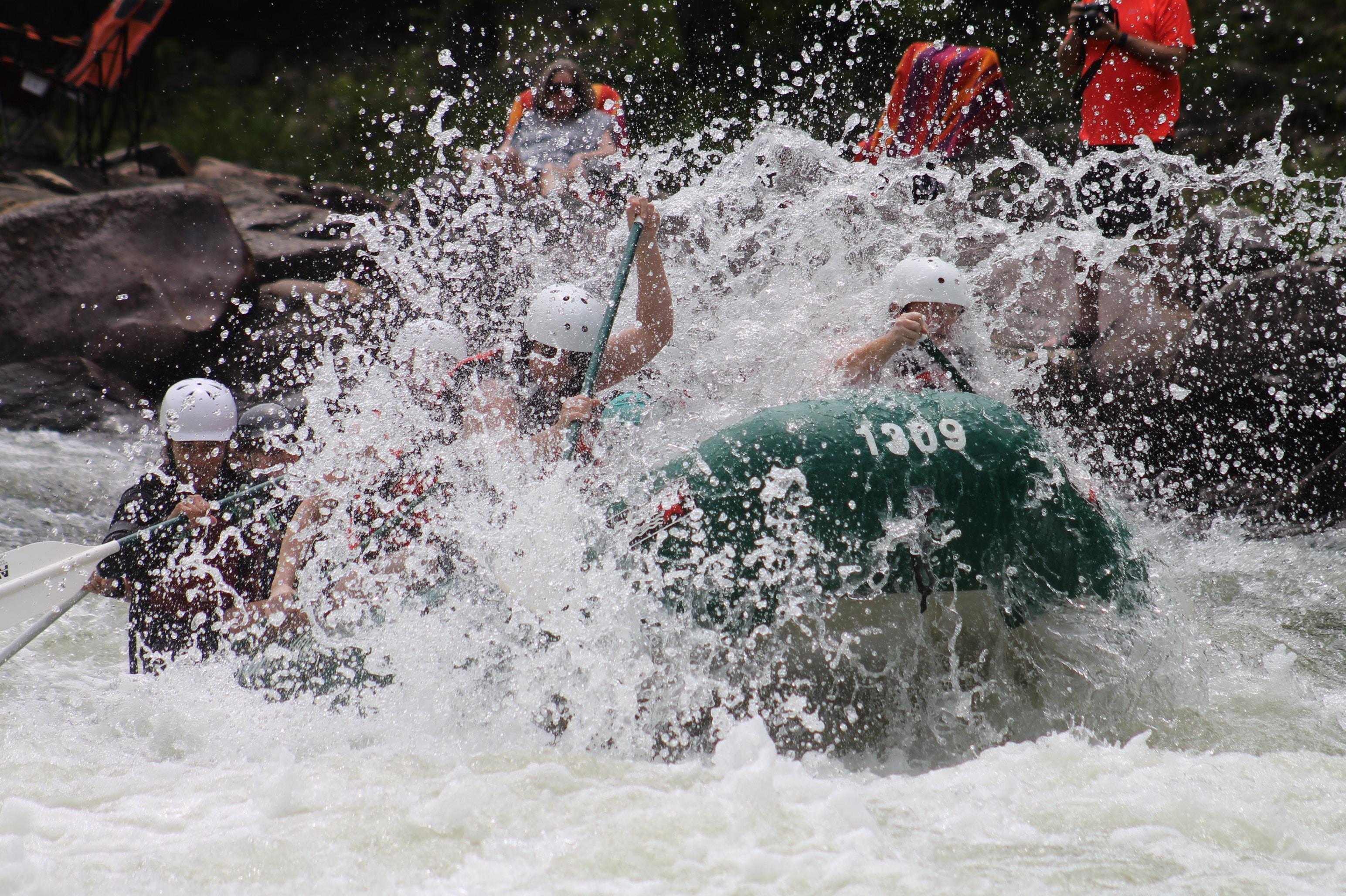 Rafting in Park City.