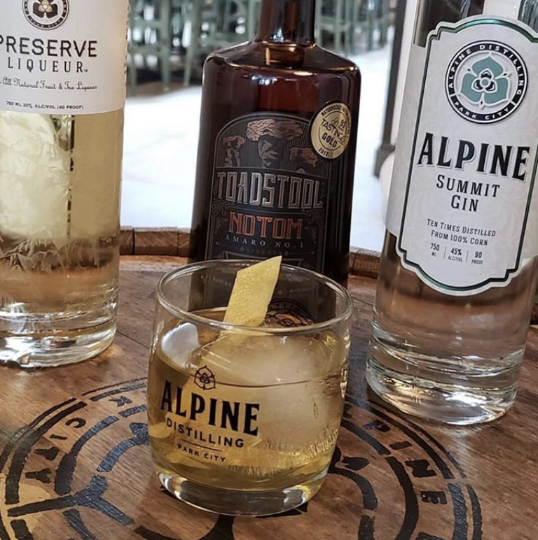 Alpine distilling in Park City.