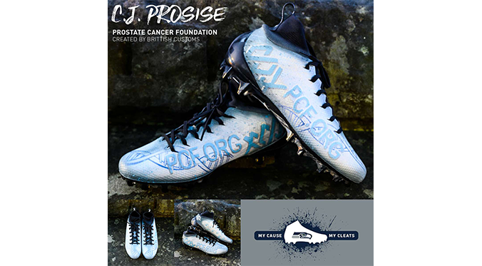 CJ Prosise Cleats