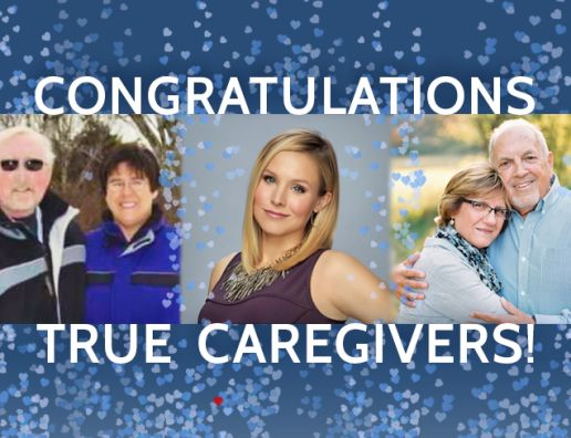 Kristen Bell Chooses Winners of The Prostate Cancer Foundation's 1st Annual TRUE Love Campaign Honoring Caregivers of  Prostate Cancer Patients