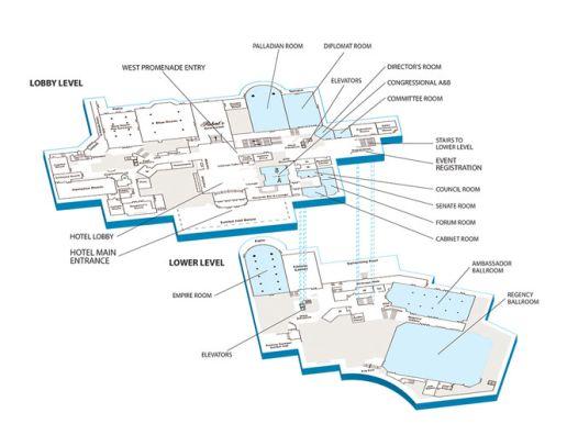 Scientific Retreat - Location Map