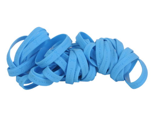 Get a Free Prostate Cancer Awareness Month Wristband