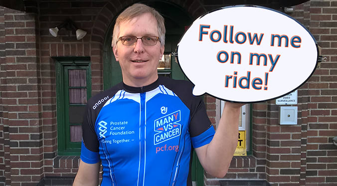 4,100 Miles Across the U.S. for Prostate Cancer