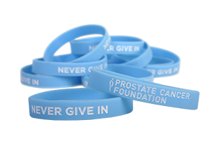 Prostate Cancer Awareness Wristbands