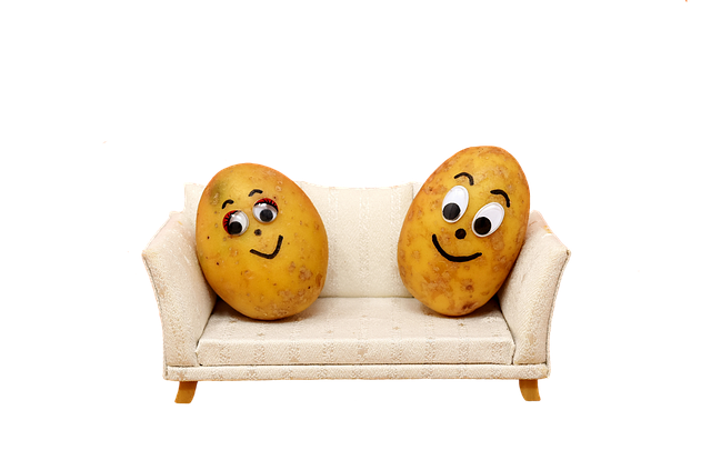 being a couch potato