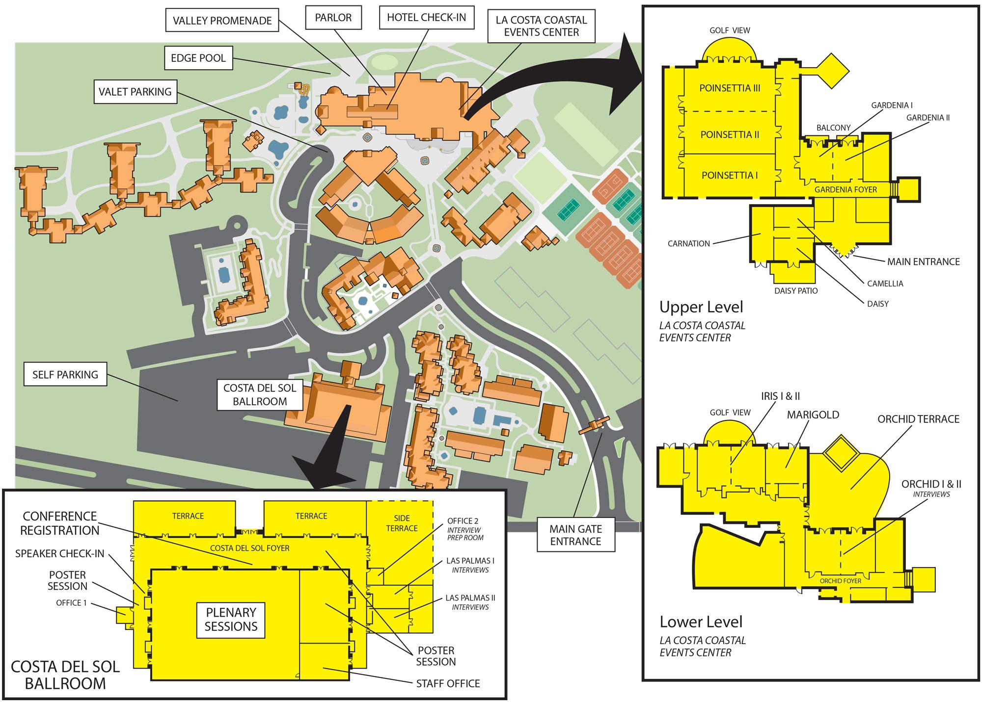 Scientific Retreat Location Map