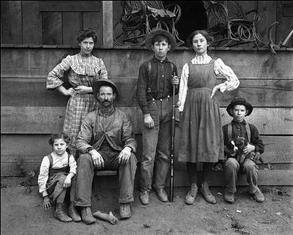 Family in 1900
