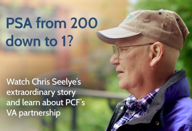 Learn about PCF's VA Partnership and Chris Seelye's story