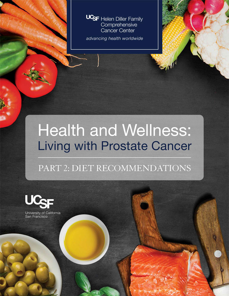 Health and Wellness: Living with Prostate Cancer, Diet Recommendations