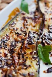 Roasted Balsamic Eggplant