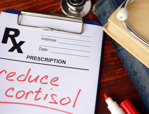 Reduce Cortisol prescription