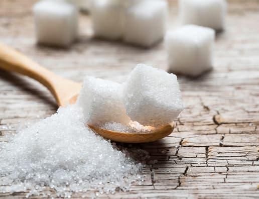sugar and sugar cubes