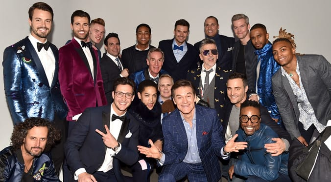 2nd Annual Blue Jacket Fashion Show Raises Funds for Prostate Cancer
