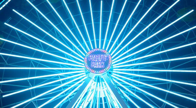 Blue Pacific Park Farris Wheel