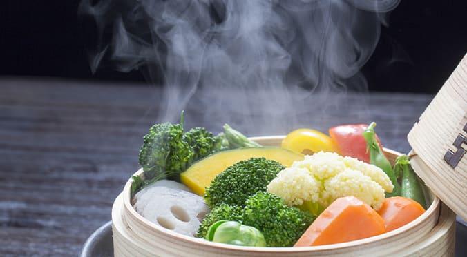 steamed vegies