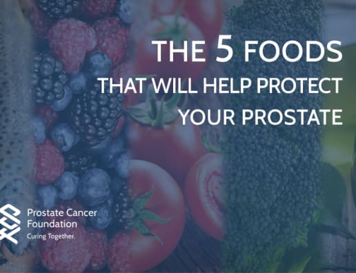 can prostate cancer be reversed by diet