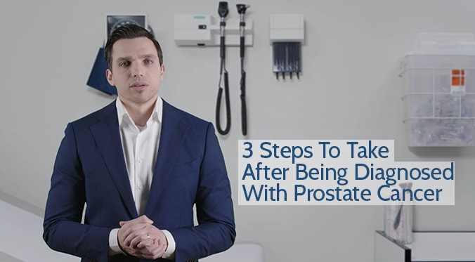 3 stepts to take after being diagnosed with PC blog image