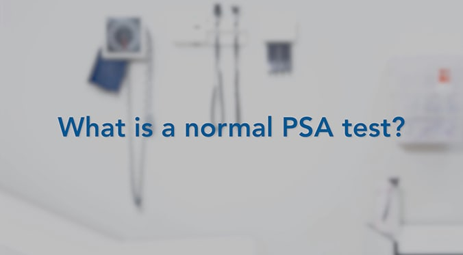 what is a normal PSA featured image