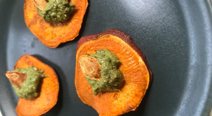 sweet potato recipe featured image