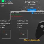 Тест геймпада - Game Controller Tester от Microsoft Store
