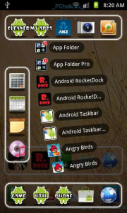 rocketdock-in-android