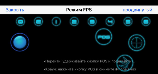 режим FPS