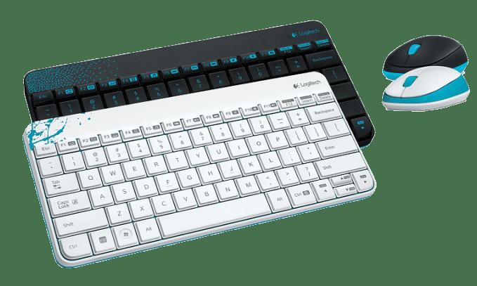 Клавиатура и мышь для ноутбуков Logitech Wireless Combo mk240