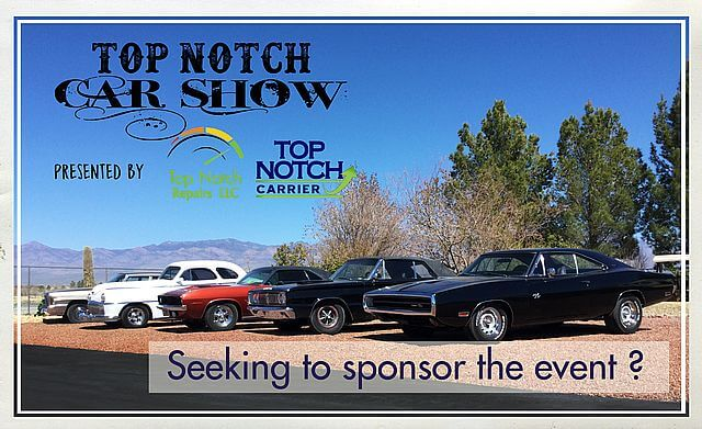 Top Notch Car Show 2019 Seeking to Sponsor Illustration
