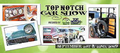 Top Notch Car Show 2019 Facebook Event Header