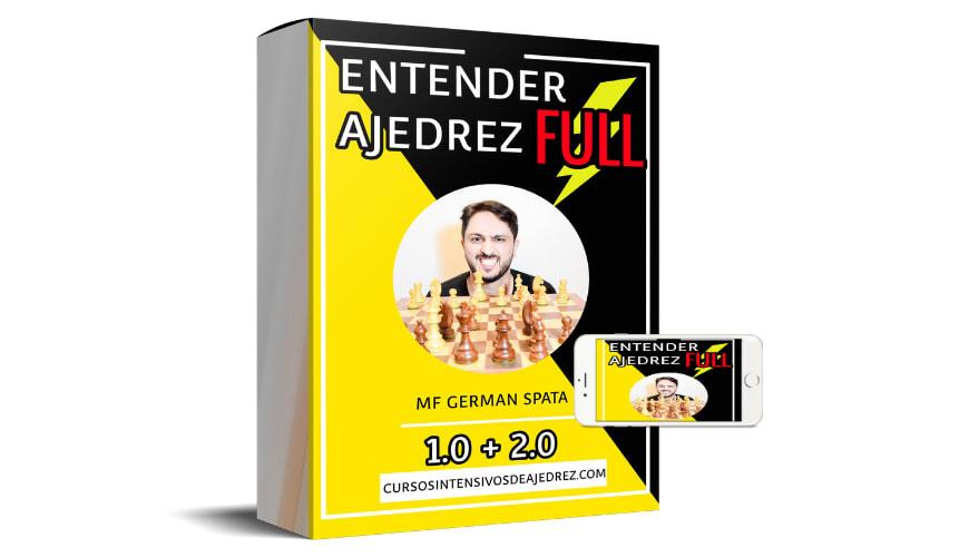 "Curso de Medio-Juego ""Entender Ajedrez 1.0 + 2.0 FULL"""