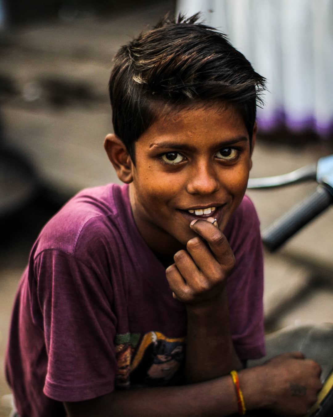 Portrait of a Boy, India