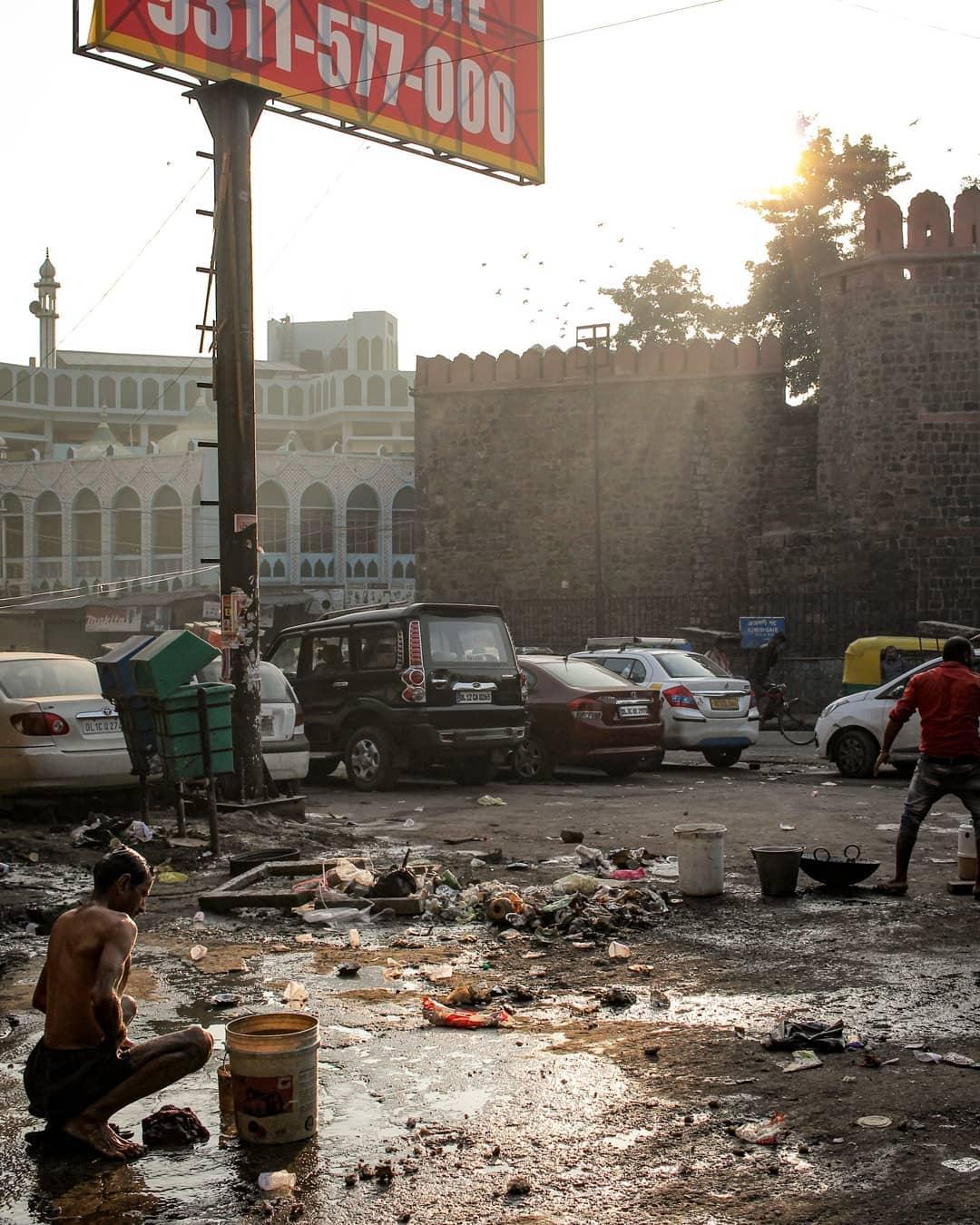 Steets of Old Delhi