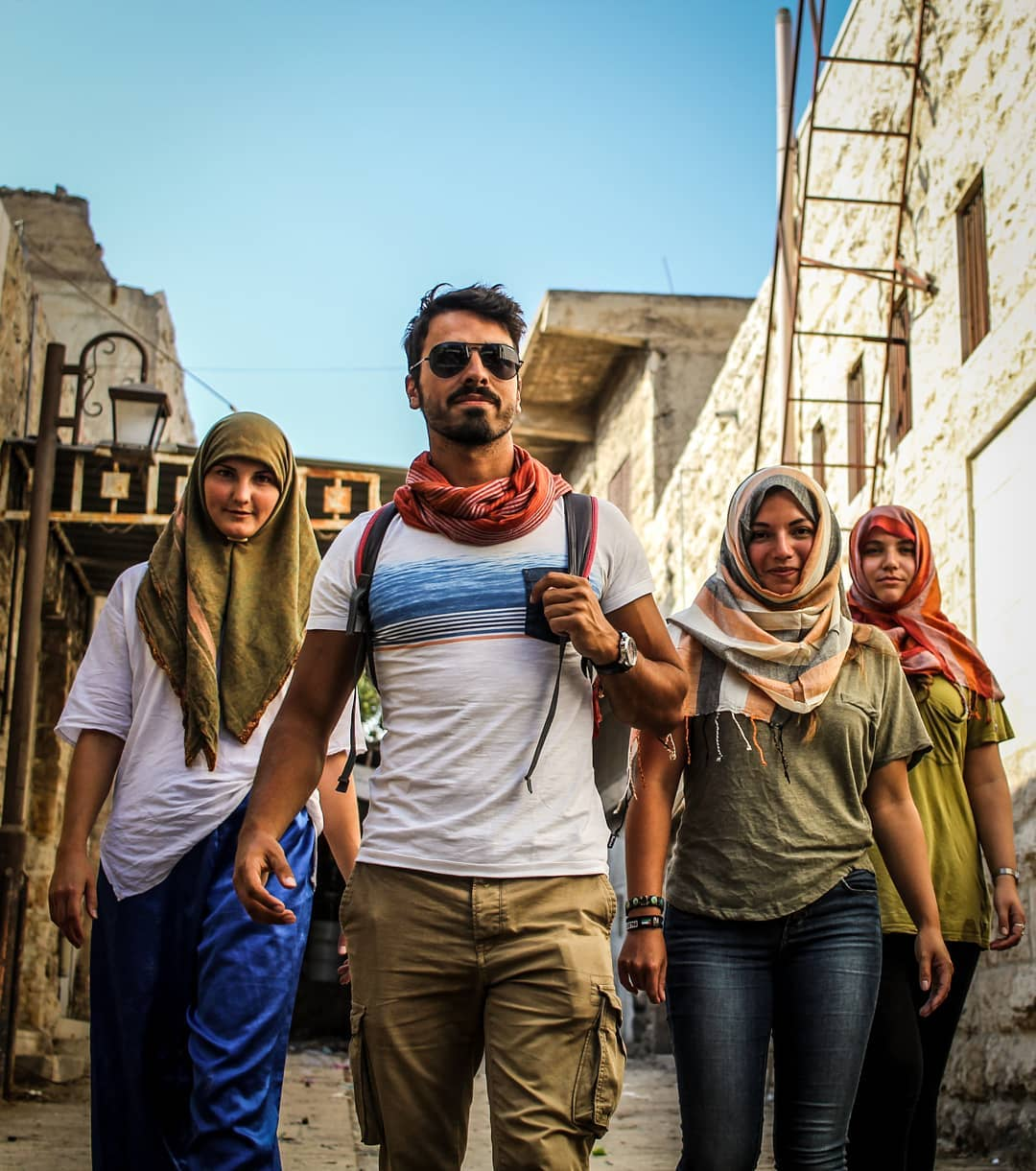 On the streets of Hebron, Palestine