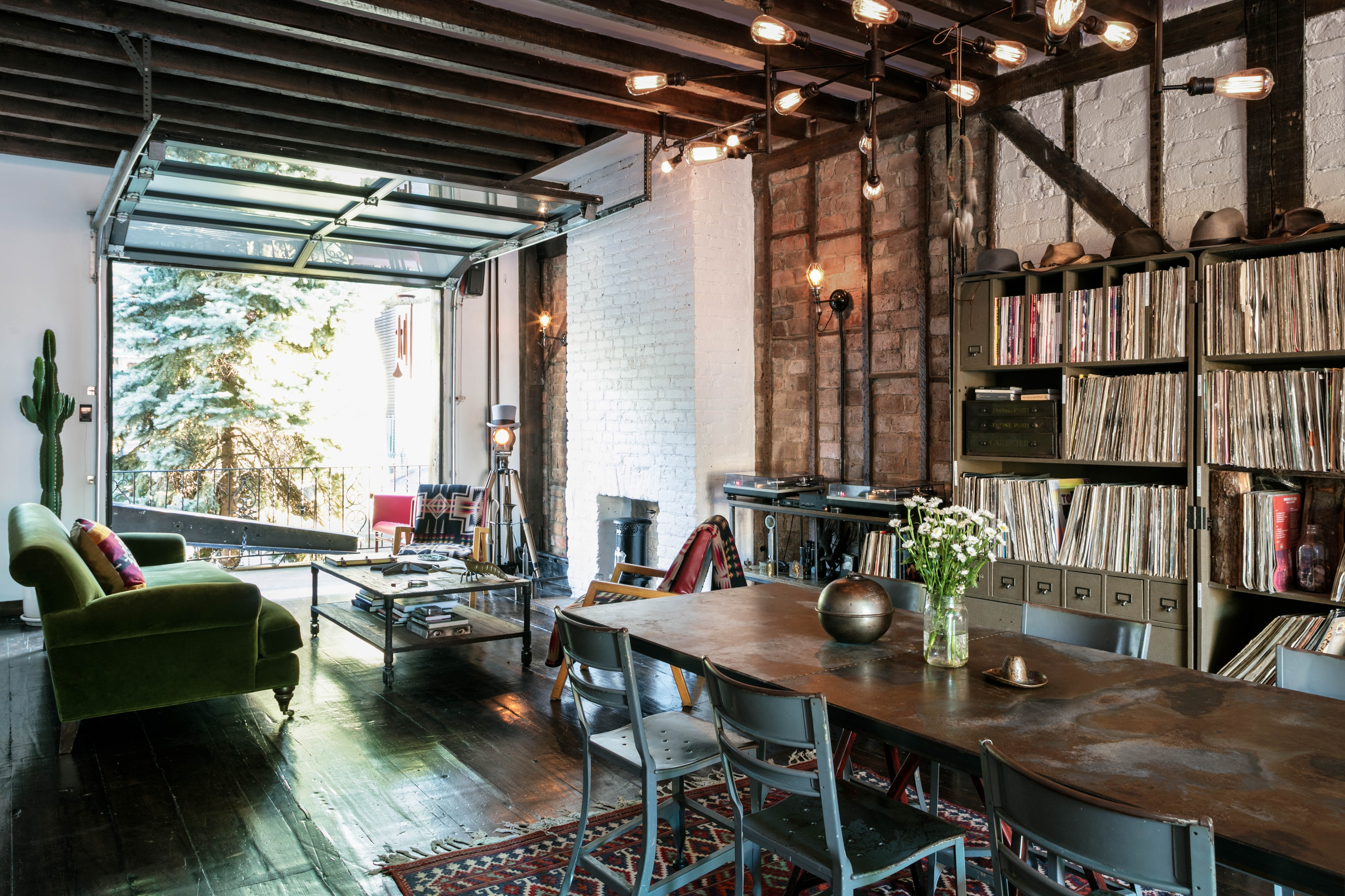 Brooklyn Townhouse Unique rustic and luxury design details