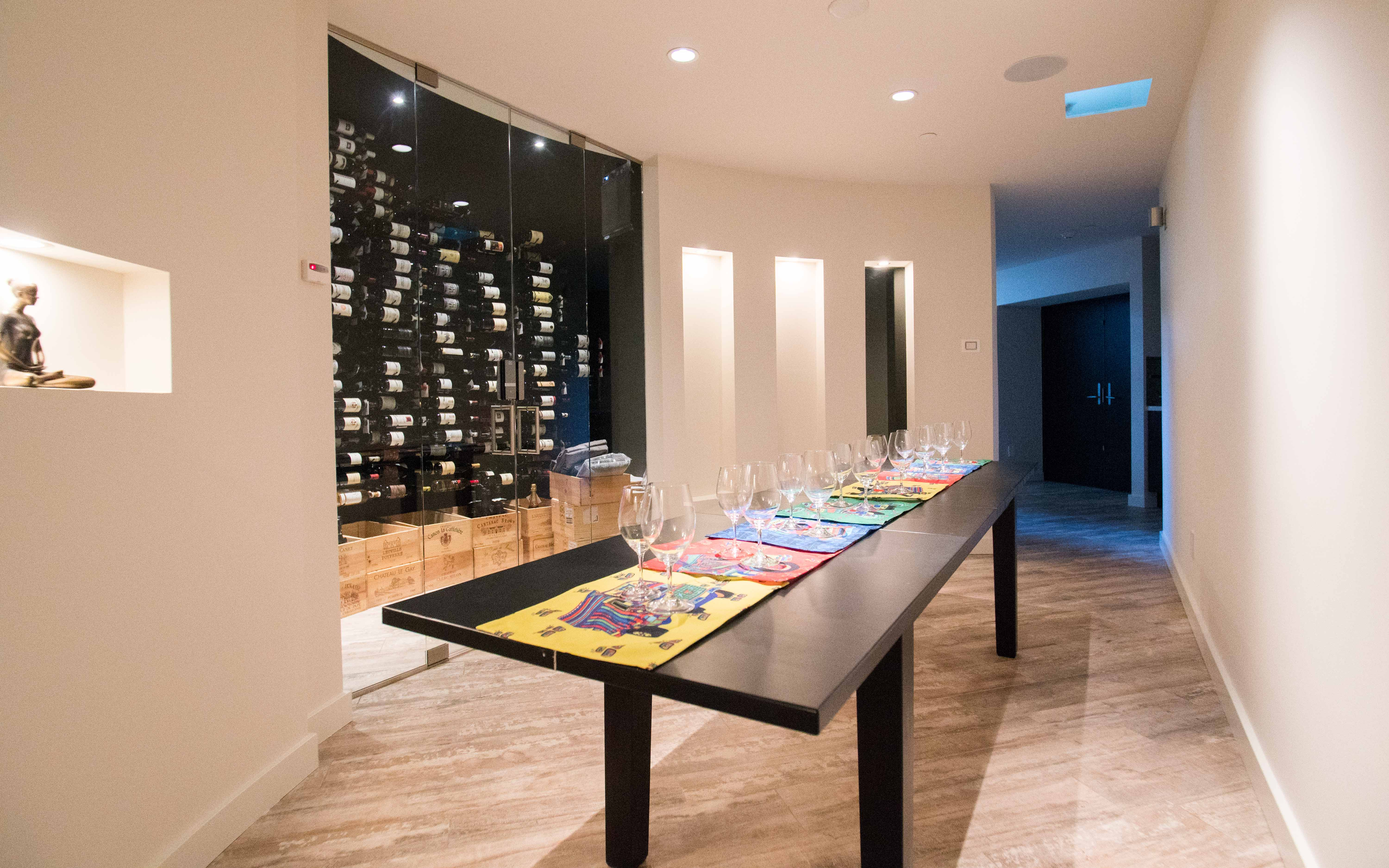 Private Theater Wine Cellar Dining Bocce Chess Los Altos Hills Ca Production Peerspace